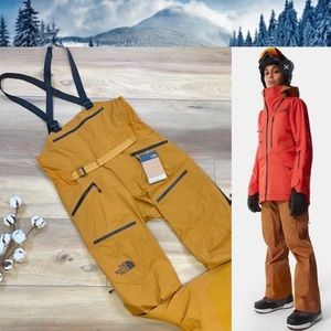 🍃🔆THE NORTH FACE- PURISTS BIB TIMBER SNOW OVERALLS🔆🍃
